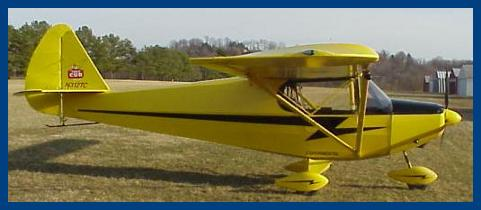 Tiger Cub aircraft, Light Sport and Experimental airplane, plans and